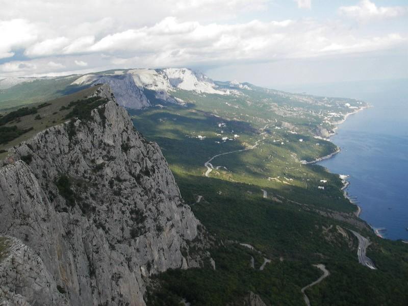 Гора Форосский кант в Крыму