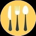 Набор посуды в каждом номере